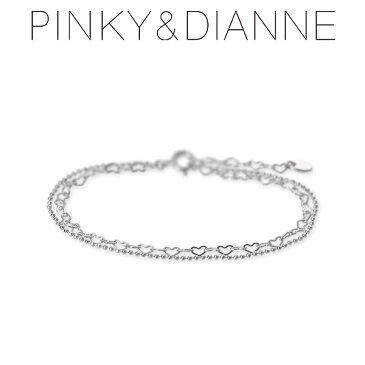 Pinky&Dianne シルバー ブレスレット ハート 20代 30代 彼女 レディース 女性 誕生日プレゼント 記念日 ギフトラッピング ピンキーアンドダイアン