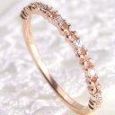 ダイヤモンドリング フラワーリング 花 指輪 K18 フラワーデザイン...