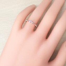 指輪10金ハートリングダイヤモンドピンキーリングK10WGK10PGK10YG人気diamondringネットショップ通販ギフト【_包装】【_名入れ】