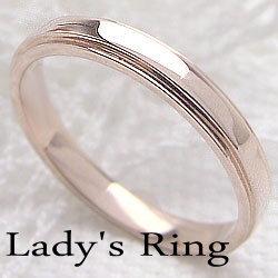 K18PGピンキーリングピンクゴールドK18指輪レディースring誕生日プレゼント贈り物アクセサリーギフト