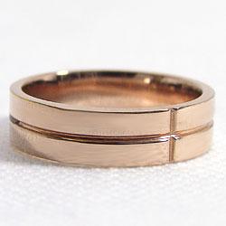 リングピンクゴールドK10ピンキーリング結婚式レディースリング結婚記念日贈り物アクセサリーショップギフト