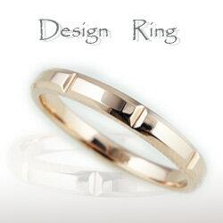 ピンクゴールドK18/シンプルリング/K18PG/ファッションリング/人気指輪/レディースring/ジュエリーショップ