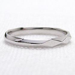 プラチナ900 メンズリング Pt900 men's ジュエリー アクセサリーショップ ひし形カット デザイン 誕生日 プレゼント ピンキーリング 男性用 刻印 レーザー 指輪 ギフト