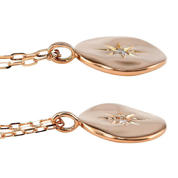 Jewelryi(ジュエリーアイ)『ペアネックレス太陽モチーフ(J-399400)』