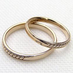 マリッジ リング イエローゴールドK10 結婚指輪 ペア リング 結婚式 K10YG ジュエリーアイ 2本セット 記念日 サプライズ 工房 通販 直送 ショップ 刻印 文字入れ 可能 ギフト