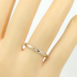 結婚指輪 ひし形カット ペアリング イエローゴールドK18 マリッジリング 2本セット 文字入れ 刻印 可能 婚約 結婚式 ブライダル ウエディング ギフト