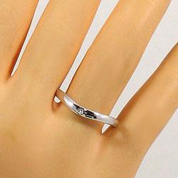 ダイヤモンドマリッジリング結婚指輪ペアリングイエローゴールドK18ホワイトゴールドK18婚約記念日K18YGK18WGpairring刻印文字入れ可能人気安い2本セットブライダルアクセサリーギフト