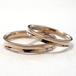 マリッジリングピンクゴールドK10結婚指輪婚約記念日ペアリングK10PGpairringギフト