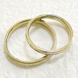 ペアリング/イエローゴールドK18/婚約/記念日/マリッジリング/K18YG/pairring