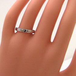 結婚指輪 クロス ペアリング ピンクゴールドK18 ホワイトゴールドK18 マリッジリング 18金 十字架 2本セット 文字入れ 刻印 可能 婚約 結婚式 ブライダル ウエディング ギフト