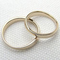 結婚指輪ゴールドペアリングクロス交差デザインイエローゴールドK10マリッジリング10金2本セット文字入れ刻印可能婚約結婚式ブライダルウエディングギフト