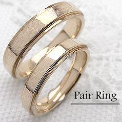 マリッジリング ペアリング イエローゴールドK18結婚指輪K18YG婚約 記念日 ギフト:ジュエリーアイ