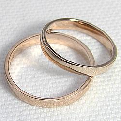 結婚指輪ピンクゴールドK18オリジナルマリッジリングペアリング18金記念日誕生日人気ジュエリーアイギフト
