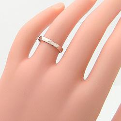 結婚指輪マリッジリング平打ちペアリングイエローゴールドK18ホワイトゴールドK18ペアリングオシャレプレゼント誕生日記念日ジュエリーアイギフト