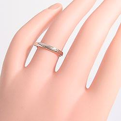 平甲丸2.5mmマリッジリングピンクゴールドK10ホワイトゴールドK10ブライダルペアリング結婚指輪ご婚約アクセサリーショップ人気ギフト