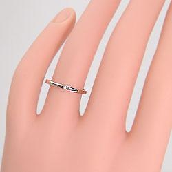 イエローゴールドK18マリッジリングダイヤペアリングK18YG天然ダイヤモンドシンプルデザイン指輪記念日誕生日ジュエリーアイギフト