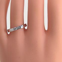 結婚指輪ゴールドペア一粒ダイヤモンドマリッジリングK10WGホワイトゴールドK10ペアアクセサリー2本セット