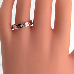 クロスダイヤモンドマリッジリングピンクゴールドK18ペアリング結婚指輪人気ブライダルアクセサリー結婚記念日誕生日プレゼントK18PGプロポーズギフト