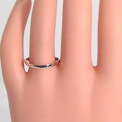 結婚指輪マリッジリング18金一粒ダイヤモンドオリジナルデザインペアリング2本セット18金文字入れ刻印可能婚約結婚式ブライダルウエディングギフト