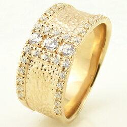 ペアリング結婚指輪18金ダイヤモンドマリッジリングPt900結婚式2本セット人気【K18WGK18PGK18YG_包装】【_名入れ】