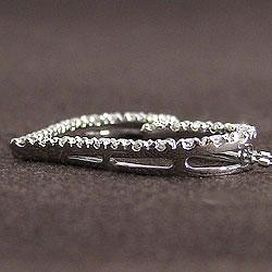 オープンハートダイヤモンドネックレスプラチナハートペンダントPt900Pt850誕生日プレゼント工房直送ギフト