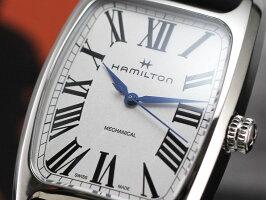 ハミルトンは安心の正規販売店でHAMILTONボルトンメカ手巻ホワイトBOULTONMECHANICALカーフストラップ日本正規品H13519711