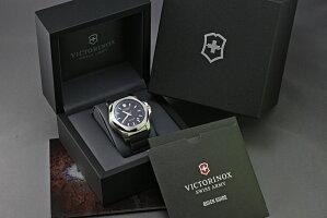 ビクトリノックスは安心の正規販売店でビクトリノックススイスアーミーVICTORINOXINOXイノックスレザーグレー正規輸入品