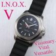 ビクトリノックスは安心の正規販売店で  ビクトリノックススイスアーミー VICTORINOX INOX V イノックスV 37mm ブラック 正規輸入品