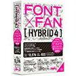 送料無料!フォント・アライアンス・ネットワーク FONT x FAN HYBRID 4