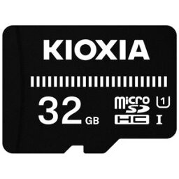 KIOXIA KMSDER45N032G MicroSDカード EXERIA BASIC 32GB