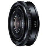 送料無料!SONY E 20mm F2.8Eマウント用レンズ(ソニー ミラーレス一眼用) SE…