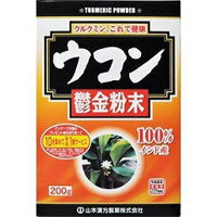 【山本漢方】ウコン粉末100% 200g【ウコン】【クルミン】