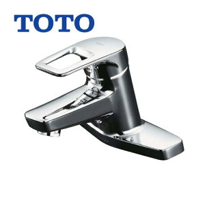 [TLHG30AE] TOTO 洗面水栓 ツーホールタイプ(台付き) エコシングル 取り替え用シングルレバー混合栓(2穴タイプ) 吐水口:ソフト メタルハンドル 【パッキン無料プレゼント!(希望者のみ