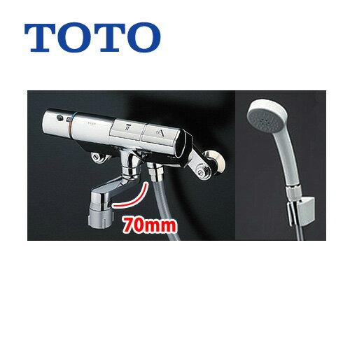 TMN40STE TOTO浴室水栓サーモスタットシャワー金具(壁付きタイプ)タッチスイッチ水栓シャワーヘッド:エアイン洗い場専