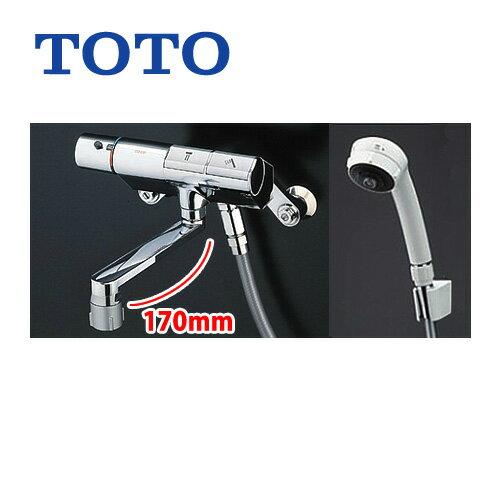 TMN40TJ TOTO浴室水栓サーモスタットシャワー金具(壁付きタイプ)タッチスイッチ水栓シャワーヘッド:ワンダービート シ