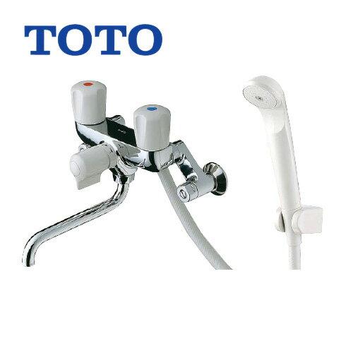 TOTO浴室シャワー水栓蛇口混合水栓蛇口壁付きタイプ TMS20C 2ハンドルシャワー水栓スプレー(節水)シャワー シールテ