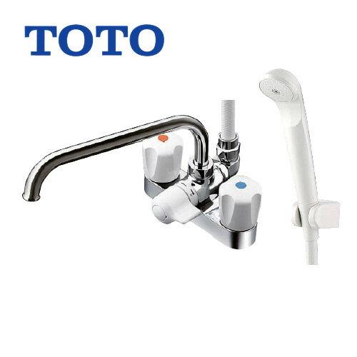 TOTO浴室シャワー水栓蛇口混合水栓蛇口台付きタイプ TMS26C 2ハンドルシャワー水栓スプレー(節水)シャワー パッキン
