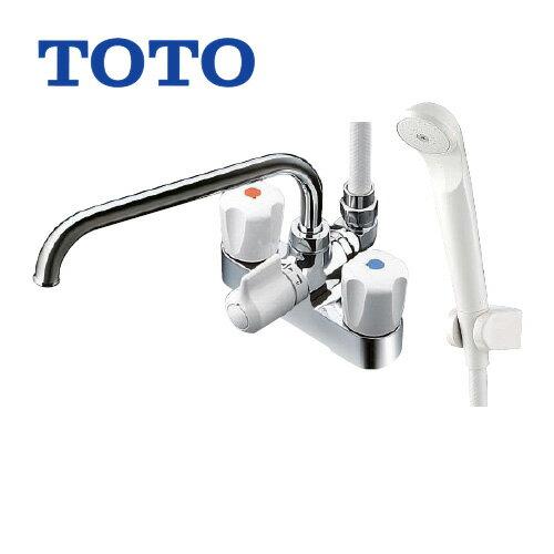 TOTO浴室シャワー水栓蛇口混合水栓蛇口台付きタイプ TMS27C 2ハンドルシャワー水栓スプレー(節水)シャワー パッキン