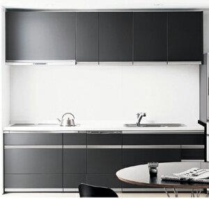 Panasonic(パナソニック電工)キッチンリビングステーションS-classI型壁付けプラン間口257cm
