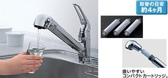 【メール便対応可】 タカラスタンダード 純正部品 交換用浄水器カートリッジ SF-T20 オプション アクセサリー