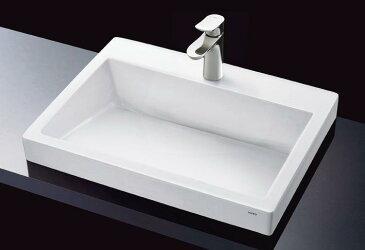 TOTO LS911CR#NW1+TLG01303J+TLC4A1×2+T6W1 ベッセル式洗面器+水栓金具・止水栓・壁排水金具のセット カウンター式洗面器ベッセル式(ハイクオリティ洗面器)※ 水をためられません。