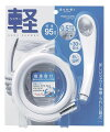 カクダイ止水機能付きシャワーヘッド356-910-Wリフレッシュして入浴を楽しく快適にしてください止水するので節水・エコにもなります