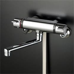 KVKバスルーム用壁付サーモスタット式シャワー混合栓KF800T
