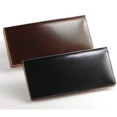 メンズ長財布の革の種類 コードバン