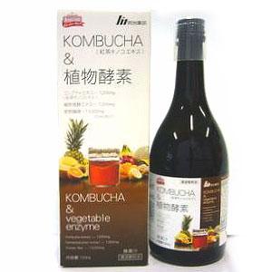 KOMBUCHA&植物酵素(ドリンクタイプ)720mL【明治薬品】