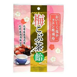 梅こぶ茶飴 72g