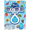 ぎゅっと濃縮 飲む酵素 乳酸菌 210g (15g×14本)