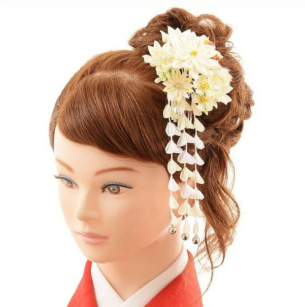 〔レンタル 髪飾り〕〔コサージュ〕〔髪飾り〕〔振袖〕〔成人式〕髪飾りレンタル1bi0025 ホワイト【往復送料無料】【RCP】fy16REN07(10P03Dec16)