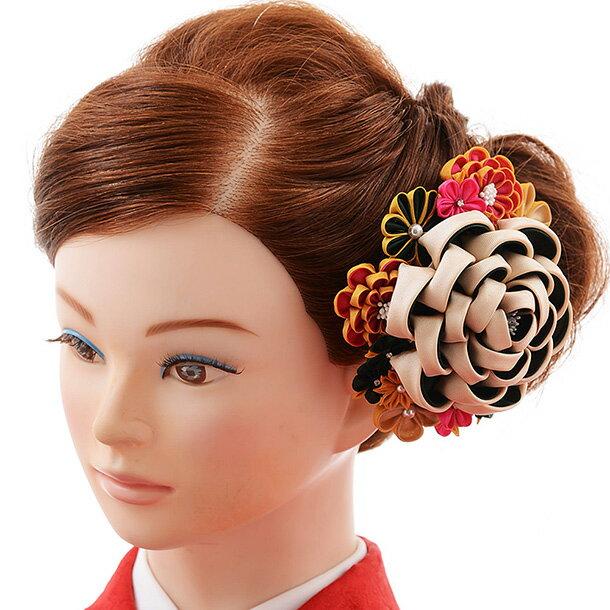 〔振袖 髪飾り 花〕〔レンタル 髪飾り〕〔コサージュ〕〔髪飾り〕〔振袖〕〔成人式〕髪飾りレンタル 0060 白【往復送料無料】【RCP】fy16REN07(10P03Dec16)