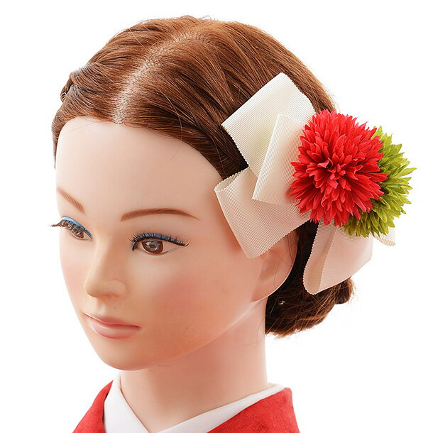 〔振袖 髪飾り 花〕〔レンタル 髪飾り〕〔コサージュ〕〔髪飾り〕〔振袖〕〔成人式〕髪飾りレンタル 0066 白【往復送料無料】【RCP】fy16REN07(10P03Dec16)